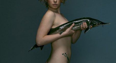 Sea it! British celebs go naked to fight overfishing