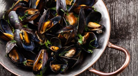 A Christmassy Mussels Recipe