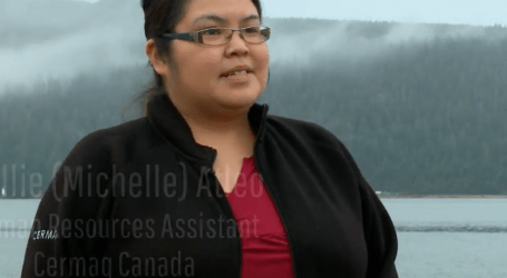 Fish farming industry nurtures Michelle Atleo