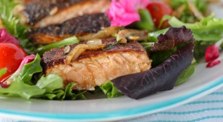 Whats for lunch? Recipe, Farm-fresh Salmon Salad