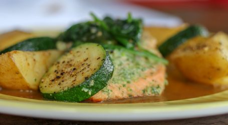A heart healthy comfort-food salmon recipe