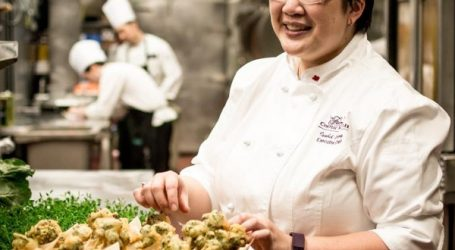 Fairmont's pride Chef Isabel Chung at BC's Seafood Festival