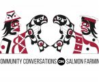 Raising awareness about salmon farming