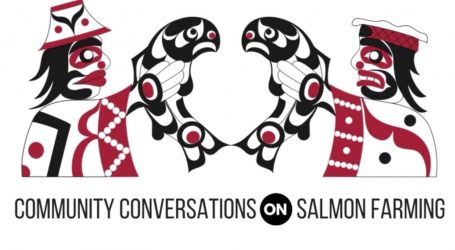 Raising awareness about salmon farming