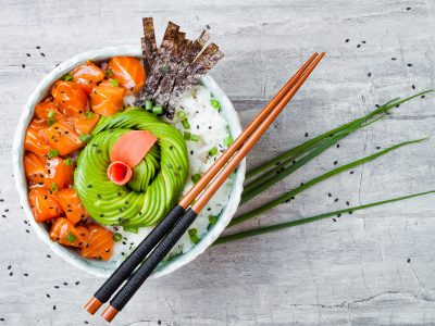 Salmon Poke Bowl