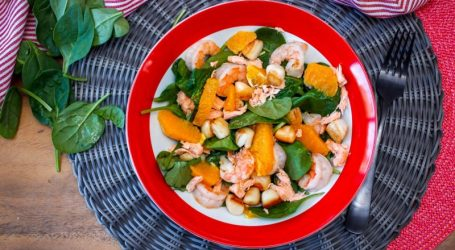 Orange and Seafood? Check out Jen Reviews Recipe
