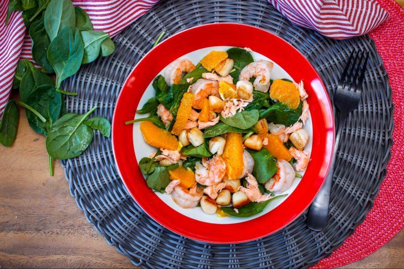 Orange and Seafood