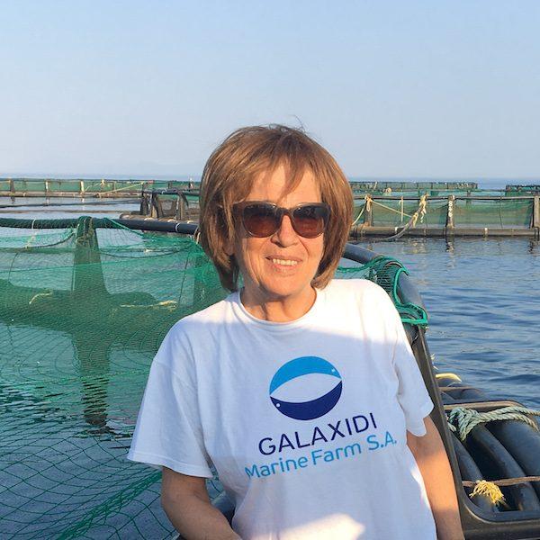 woman in aquaculture