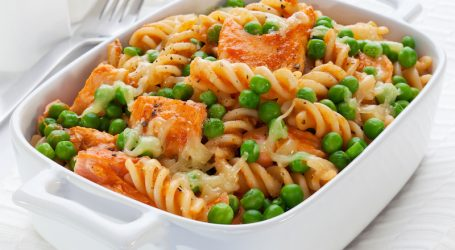Salmon Pasta Recipe : Pasta Bake