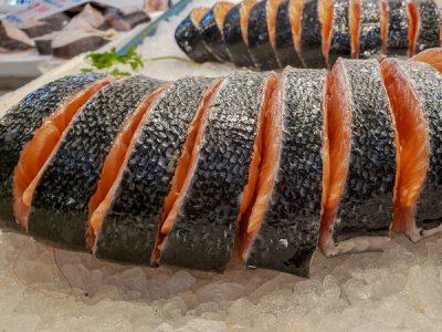 salmon farm