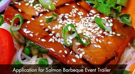 Mowi Application for Salmon Barbeque Event Trailer