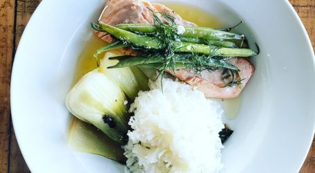 Quick and Easy Salmon Dinner