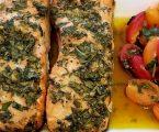 YouTube's No Hippie BBQ Salmon Recipe