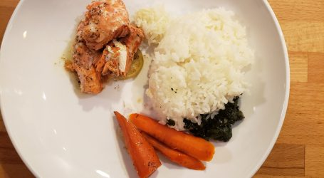 low FODMAP salmon