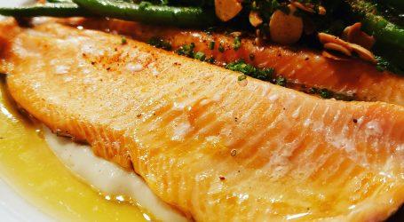 Steelhead Trout Dinner