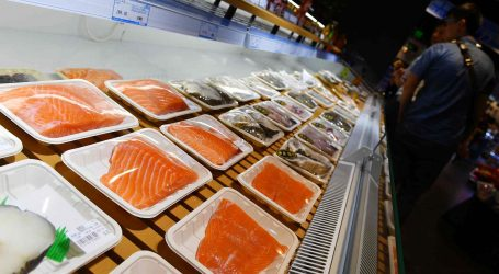 """Our salmon is safe"" Canada tells China"