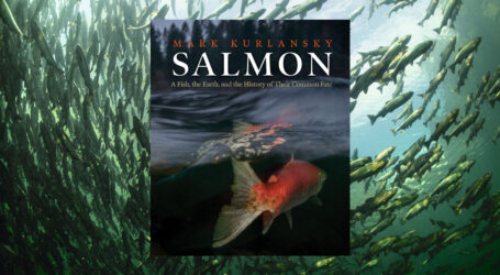 "Ousting ocean-based farms to grow fish on land not a good idea, says Mark Kurlansky, the New York Times bestselling author of ""Salmon"", published by Patagonia."