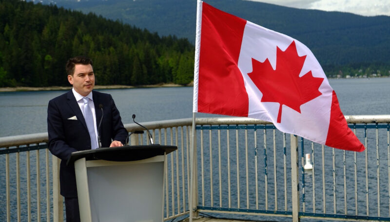"""""""In British Columbia aquaculture is perfectly positioned to help drive economic growth,"""" - Terry Beech, Parliamentary Secretary to the Minister of Fisheries, on the future of salmon farms in BC."""