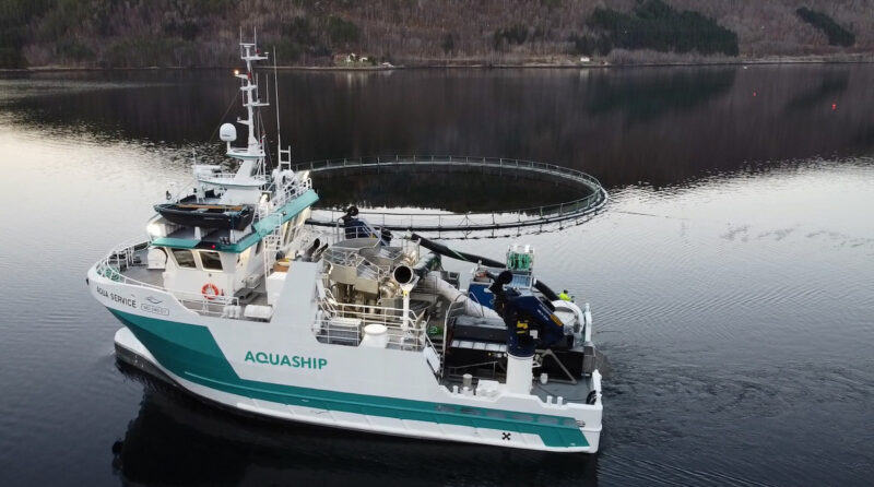 New high-tech vessel joins aquaculture armada in BC as the government is schooled on the role of innovation and technology in the Canadian aquaculture industry.