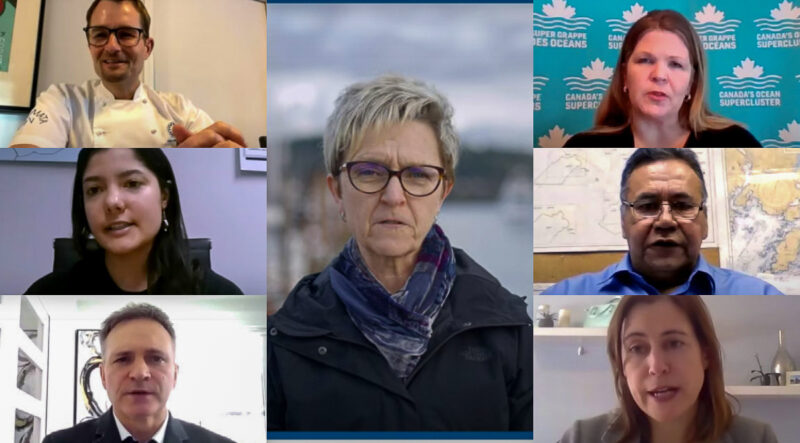 New video series to highlight the benefits of the Blue Economy features 10 Canadian voices from the seafood industry