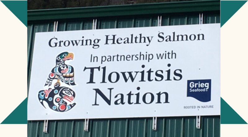 """""""As much as there seems to be controversy about the business, we believe many First Nations should be looking at long-term relationships with salmon farming partners,"""" - Thomas Smith, Councillor for the Tlowitsis Nation."""